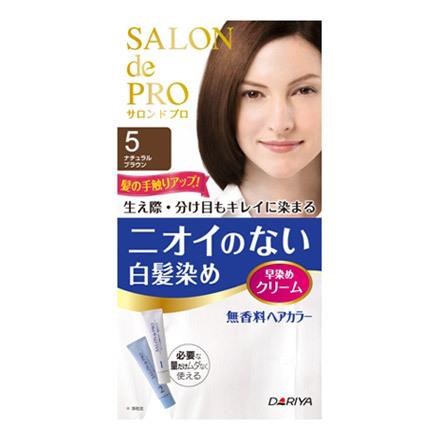 サロン ド プロ/無香料ヘアカラー 早染めクリーム(白髪用)
