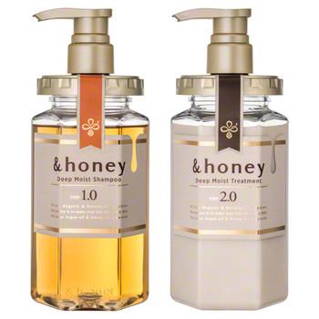 &honey(アンドハニー)/ディープモイスト シャンプー1.0/ヘアトリートメント2.0