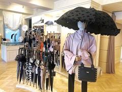 \日傘はコーディネートの一部/