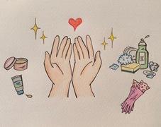 手荒れ知らずの手が、肌のキレイを作る