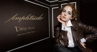 意思あるまなざし エレガントな唇に スタイルを宿す Amplitude 2020秋冬コレクション