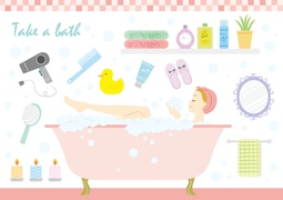 【悩みに合わせてお風呂に入るだけ】美容もストレス解消にも!?