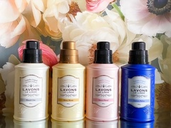 LAVONS 柔軟剤入り洗剤で「香りの衣替え」