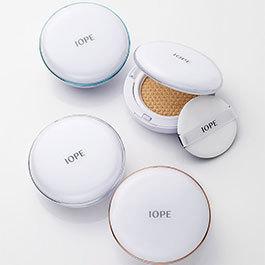 ひと塗りで理想肌へ導く新エアクッション。4タイプ X 2色で登場! / IOPE(アイオペ) の画像