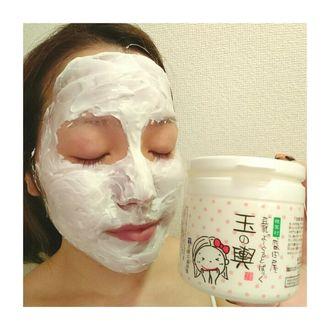 洗い流すパック・マスク の画像