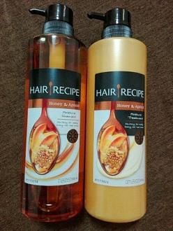 ハニー アプリコット エンリッチ モイスチャー レシピ シャンプー/トリートメント / Hair Recipe by ayaneco2525さん の画像