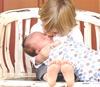 赤ちゃんはミルクの匂い