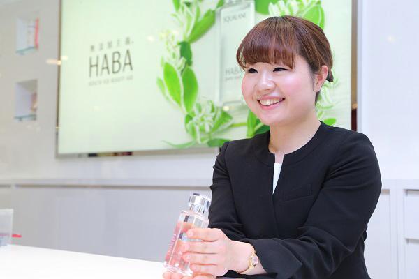 shopHABA 富山エリア(2018年3月NEW OPEN)美容部員・化粧品販売員(ビューティーカウンセラー)契約社員の求人のスタッフ写真1