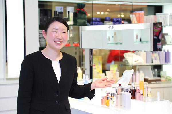 shopHABA マリエ富山店(2018年3月9日 NEW OPEN)美容部員・化粧品販売員(ビューティーカウンセラー)契約社員の求人のスタッフ写真4