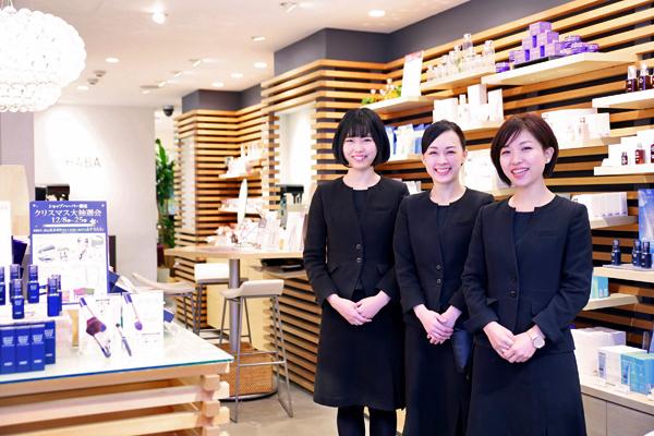 shopHABA トキハ百貨店わさだタウン美容部員・化粧品販売員(『HABA(ハーバー)』ビューティーカウンセラー)契約社員の求人のスタッフ写真1