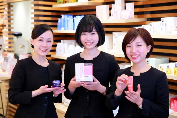shopHABA さんすて福山店(2018年3月15日 NEW OPEN)美容部員・化粧品販売員(『HABA(ハーバー)』ビューティーカウンセラー)契約社員の求人のスタッフ写真1