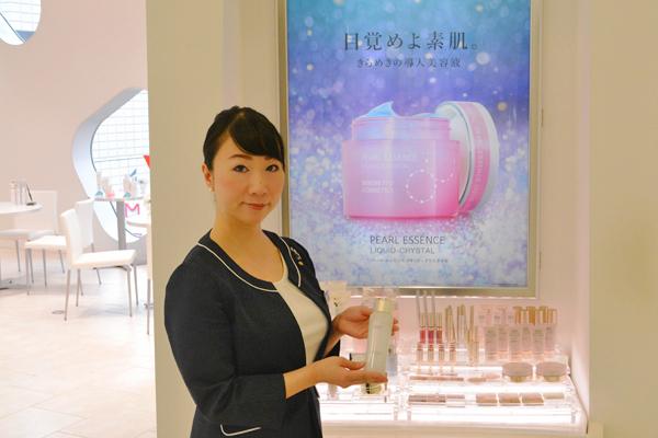 渋谷東急本店 ミキモトコスメティックスカウンター美容部員・化粧品販売員契約社員の求人のスタッフ写真4