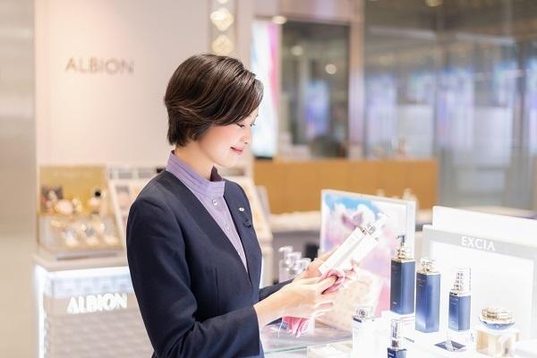 アルビオン 新宿・渋谷・青山・六本木エリアの有名百貨店・専門店美容部員・BA(ビューティーアドバイザー)正社員の求人のサービス・商品写真4