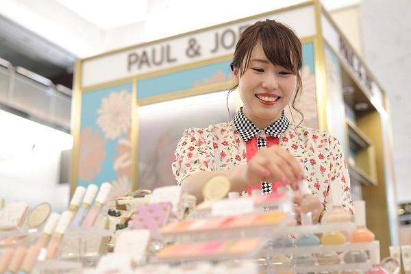 ポール&ジョー ボーテ 梅田エリア新店(2020年2月下旬オープン予定)美容部員・BA(クリエイター)契約社員の求人のサービス・商品写真1