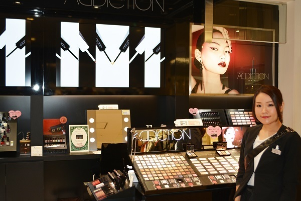 ADDICTION  ルミネエスト新宿店美容部員・化粧品販売員アルバイト・パートの求人のスタッフ写真1