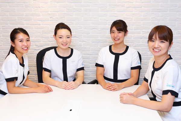 キレイモ 新宿本店エステ・エステティシャン正社員,アルバイト・パートの求人のスタッフ写真2