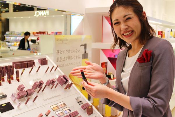 アテニア 新宿エリア(2018年10月 NEW OPEN店舗も含む)美容部員・化粧品販売員(ビューティコンシェルジュ)正社員の求人のスタッフ写真1