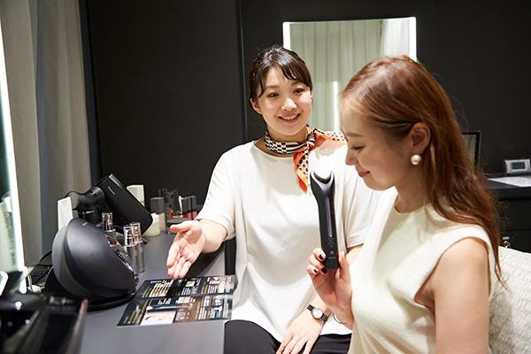 Panasonic Beauty SALON 銀座美容部員・化粧品販売員(パナソニックビューティ美容家電アドバイザー)正社員,契約社員の求人のサービス・商品写真3