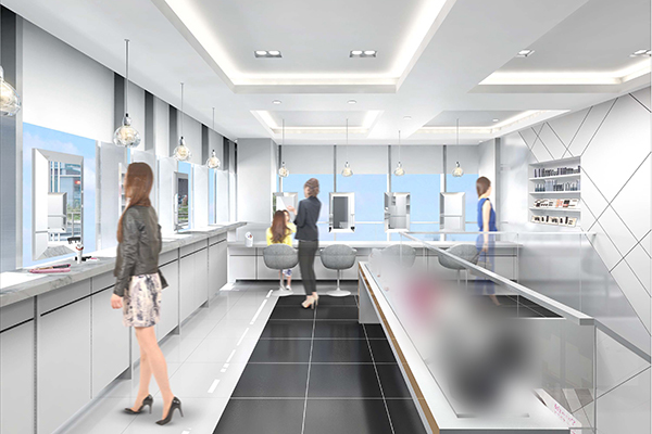 Panasonic Beauty SALON 銀座美容部員・化粧品販売員(パナソニックビューティの美容家電アドバイザー)正社員の求人の店内写真1