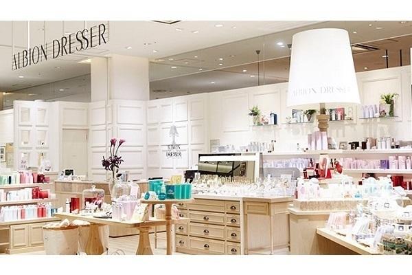 ALBION DRESSER 大宮店美容部員・BA(ブランドリーダー候補)正社員の求人の店内写真1