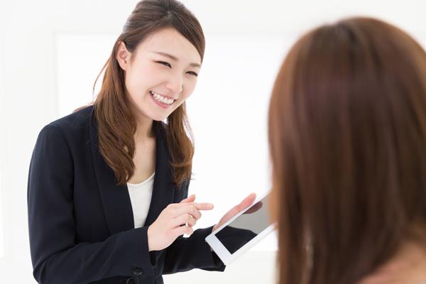 東京23区美容部員・BA契約社員の求人のスタッフ写真1