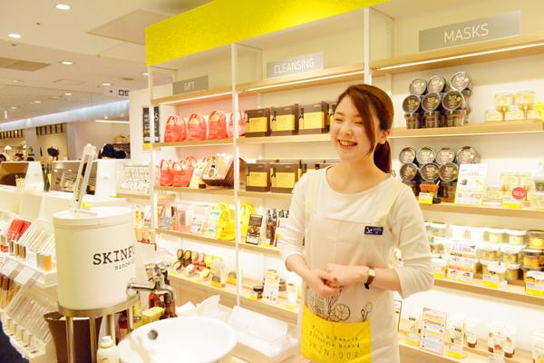 【新宿・渋谷・青山・六本木】百貨店・専門店美容部員・BA(『SKINFOOD(スキンフード)』ショップスタッフ)紹介予定派遣の求人の写真