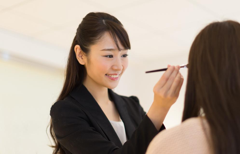 首都圏(都内・横浜・大宮)美容部員・BA(ビューティセールスクリエイター)正社員の求人の写真