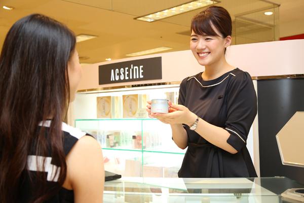 アクセーヌ 東京エリア美容部員・化粧品販売員(アテンダントスタッフ・ビューティーカウンセラー)正社員の求人の写真