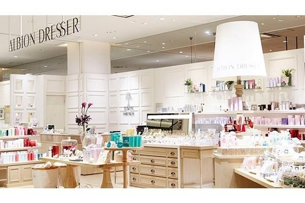 【名古屋(名駅)エリア】百貨店・専門店などの商業施設美容部員・化粧品販売員(『アルビオン』販売スタッフ)派遣の求人の写真