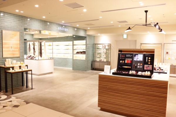 shiro + NEWoMAN新宿店美容部員・化粧品販売員(コスメティックブランド『shiro』のアドバイザー)アルバイト・パートの求人の店内写真2