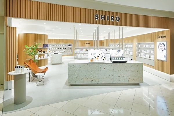 SHIRO 梅田エリア百貨店 ※2020年2月 NEW OPEN美容部員・BA契約社員の求人の店内写真2