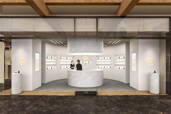 uka NEWoMan 新宿店美容部員・BA(オープニングスタッフ)正社員の求人の店内写真3