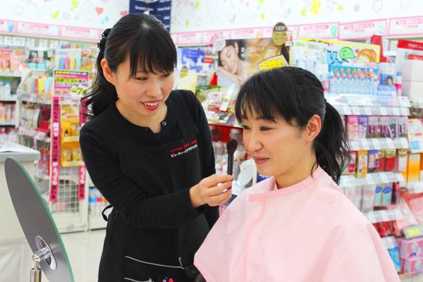 池田店美容部員・化粧品販売員正社員,契約社員,アルバイト・パートの求人のスタッフ写真2