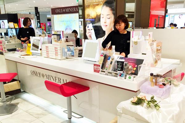 横浜エリア オンリーミネラル取り扱い店舗(バラエティショップなど)美容部員・化粧品販売員契約社員,アルバイト・パートの求人の店内写真1