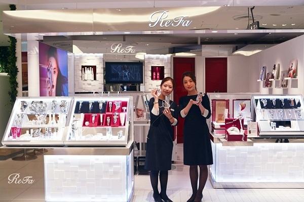 ReFa(リファ) そごう横浜店美容部員・化粧品販売員(モデリスト)正社員/アルバイト・パートの求人のスタッフ写真1