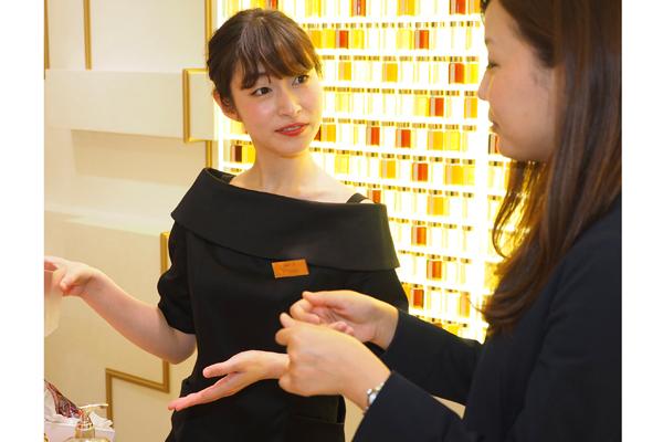 新宿・渋谷エリア 百貨店・商業施設美容部員・化粧品販売員正社員の求人のスタッフ写真5