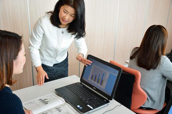 東京23区エリア一般事務・アシスタント正社員の求人のスタッフ写真7