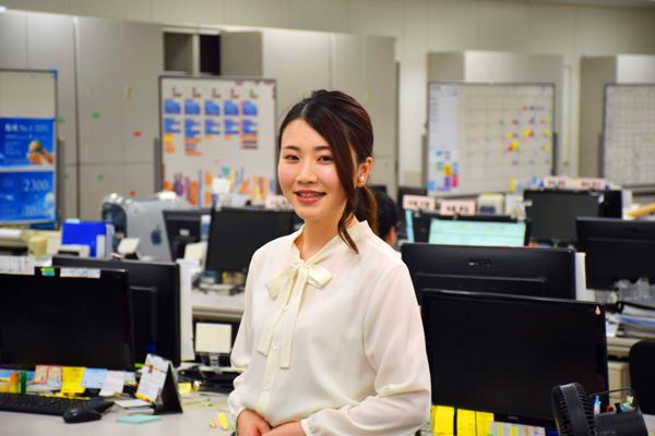 東京23区エリア一般事務・アシスタント正社員の求人のスタッフ写真3