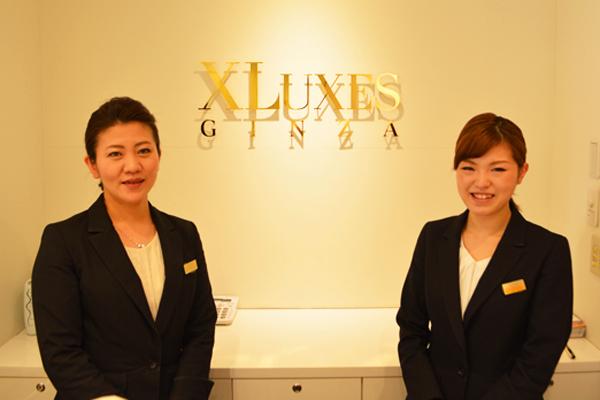 エックスリュークス銀座美容部員・化粧品販売員アルバイト・パートの求人のスタッフ写真1