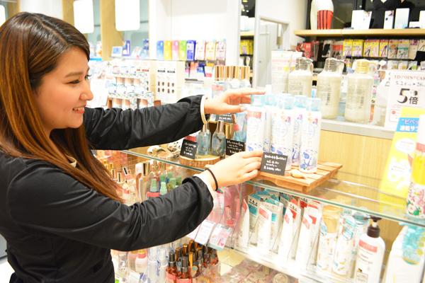 埼玉県エリア shop in美容部員・化粧品販売員契約社員の求人のスタッフ写真4