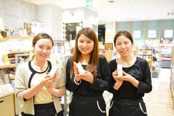 埼玉県エリア shop in美容部員・化粧品販売員契約社員の求人の写真