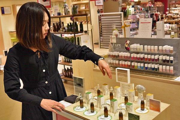 PRIMAL COLOR ODAKYU湘南GATE ※NEW OPEN美容部員・化粧品販売員正社員の求人の店内写真1