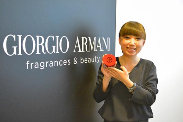 ジョルジオ アルマーニ ビューティー 阪急うめだ本店美容部員・化粧品販売員(フェイスデザイナー)正社員/契約社員/アルバイト・パートの求人のスタッフ写真1