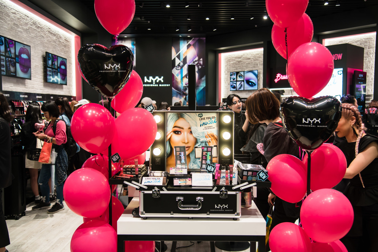 NYX Professional Makeup 東急プラザ表参道原宿店美容部員・BA正社員,契約社員の求人の店内写真1