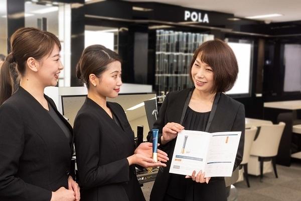 POLA 西武渋谷店美容部員・BA(百貨店ビューティーコーディネーター)契約社員の求人のスタッフ写真3