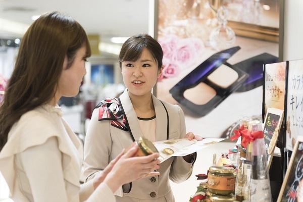 パウダーパレット札幌オーロラタウン店美容部員・化粧品販売員(アテンダントスタッフ)正社員,契約社員の求人のスタッフ写真8