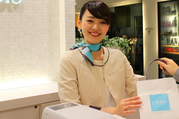 オルビス・ザ・ショップ 栃木エリア店舗美容部員・化粧品販売員契約社員の求人のスタッフ写真1