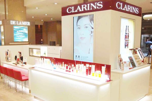 クラランス 渋谷PARCO ※11月NEW OPEN美容部員・BA(ビューティアドバイザー)契約社員の求人の店内写真1