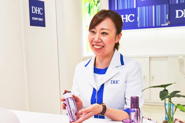 DHC京王百貨店新宿直営店美容部員・BA(ショップアテンダント)正社員の求人のスタッフ写真2