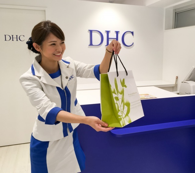 DHC東武百貨店池袋直営店美容部員・化粧品販売員(ショップアテンダント)正社員の求人の写真